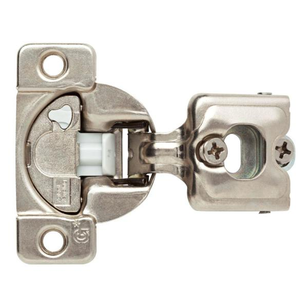 35 mm 110-Degree 3/4 in. Overlay Soft Close Cabinet Hinge (1-Pair)