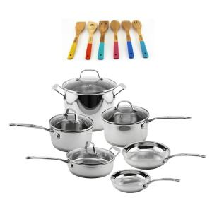 Click here to buy BergHOFF EarthChef 16-Piece Cookware Set by BergHOFF.