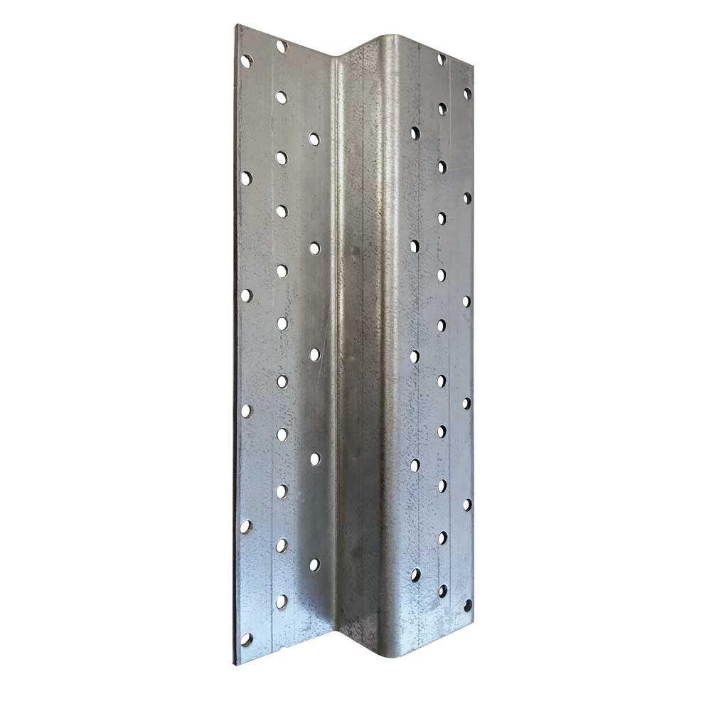 Z Post 1 6 in  x 4 75 in  x 7 5 ft  Galvanized Metal Fence Post