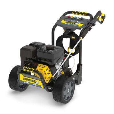 3500 PSI 2.5 GPM Commercial Duty Low Profile Gas Cold Water Pressure Washer
