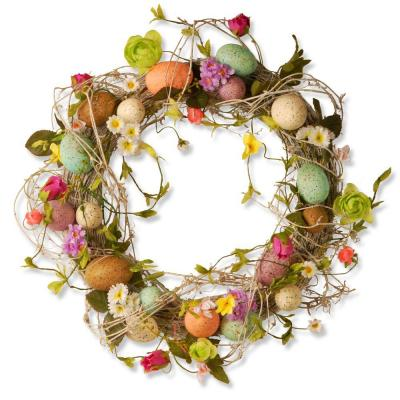 18 in. Garden Accents Easter Egg Wreath