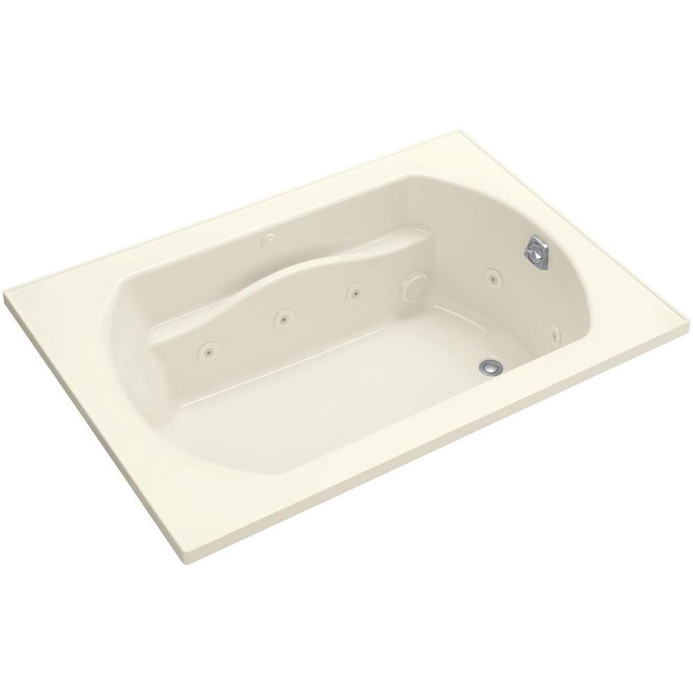 Sterling Lawson 5 Ft Whirlpool Tub With Left Drain In