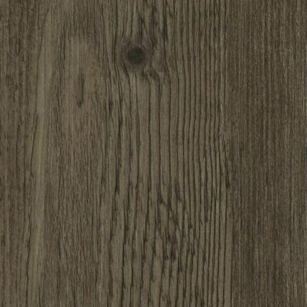 Take Home Sample - Hickory Lava Click Lock Luxury Vinyl Plank Flooring - 6 in. x 9 in.