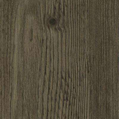 Take Home Sample - Hickory Lava Click Lock Luxury Vinyl Plank Flooring - 6 in. x 9 in.
