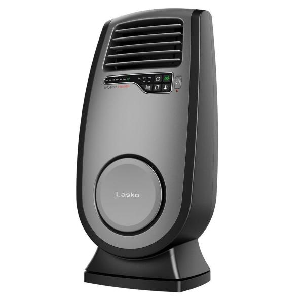Motion Heat 1500-Watt Electric Ceramic Portable Space Heater with Remote Control and SaveSmart Technology