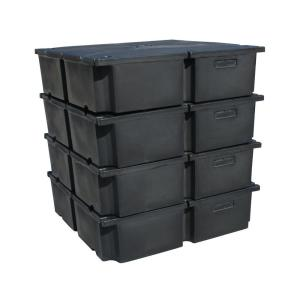 Permafloat 48 In X 48 In X 12 In Dock System Dock