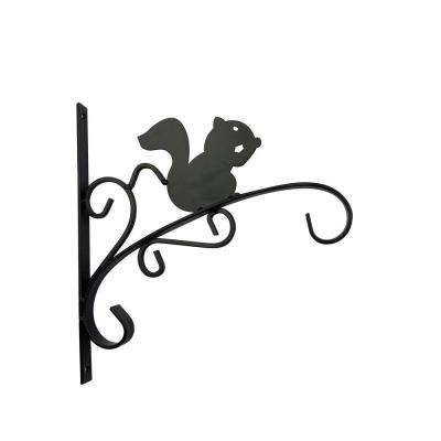 12 in. Metal Squirrel Plant Bracket