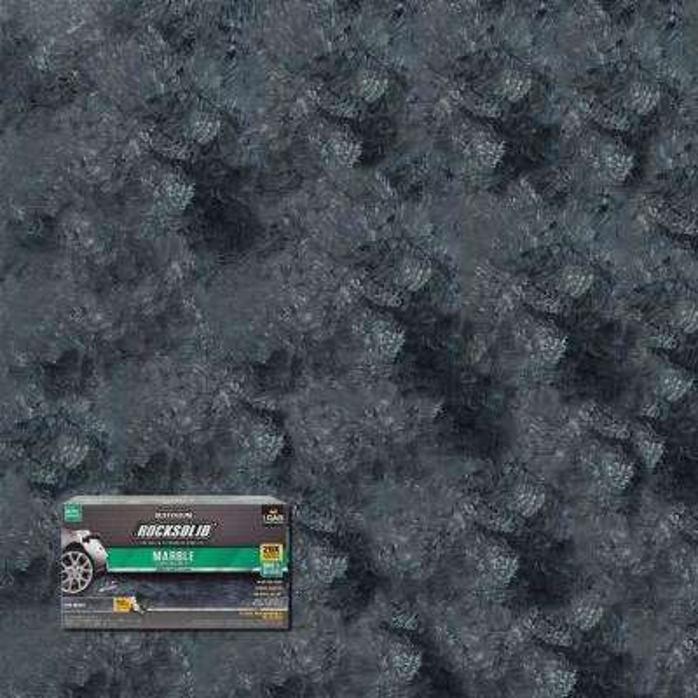 70 oz. Marble Stone Obsidian Garage Floor Kit