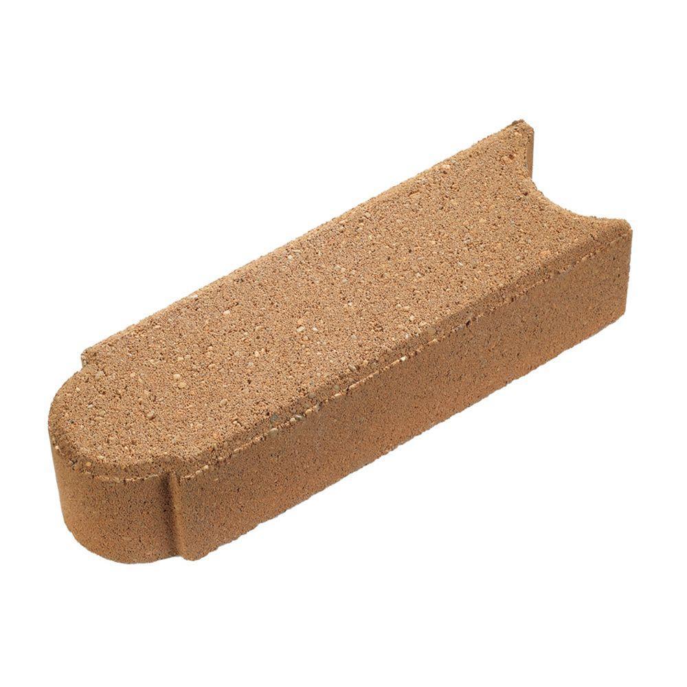 Anchor 12.5 in. x 4 in. Copper Concrete Edger