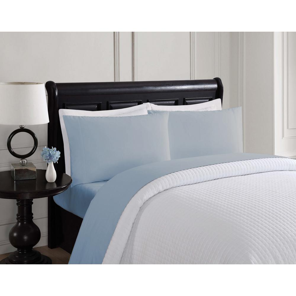 light blue twin bed sheets