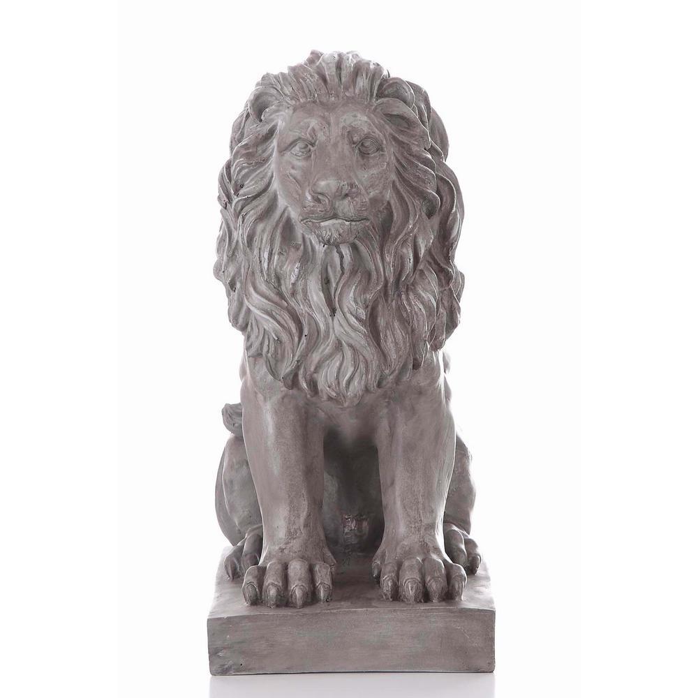 Hi Line Gift Lion Sitting 77121 The Home Depot