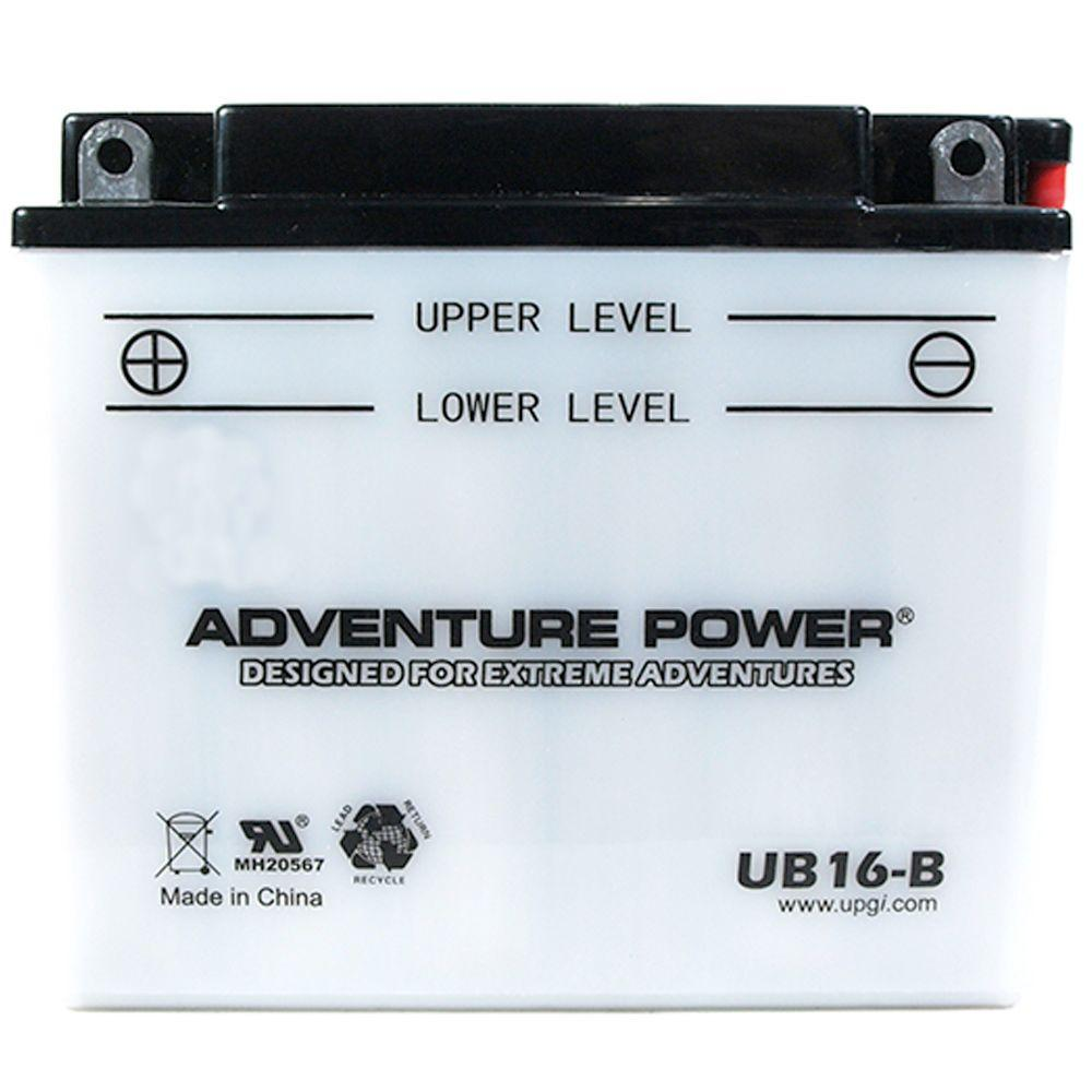 POWER SONIC Conventional Wet Pack 12- Volt 19 Ah Capacity...