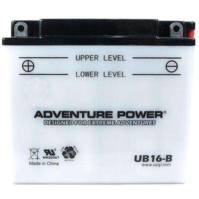 Conventional Wet Pack 12- Volt 19 Ah Capacity F Terminal Battery