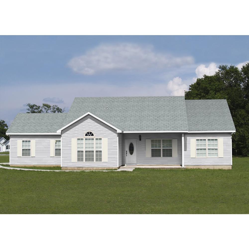 Owens Corning Supreme Shasta White 3 Tab Metric Asphalt Roofing Shingles 33 3 Sq Ft Per Bundle Ek12 The Home Depot