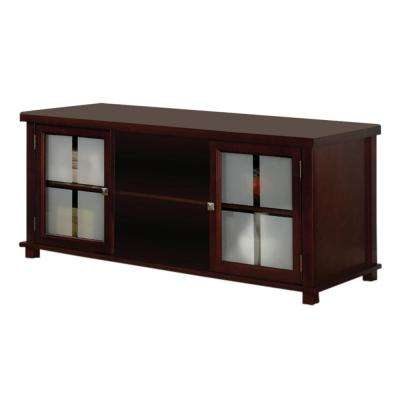 Cherry TV Stand with Storage