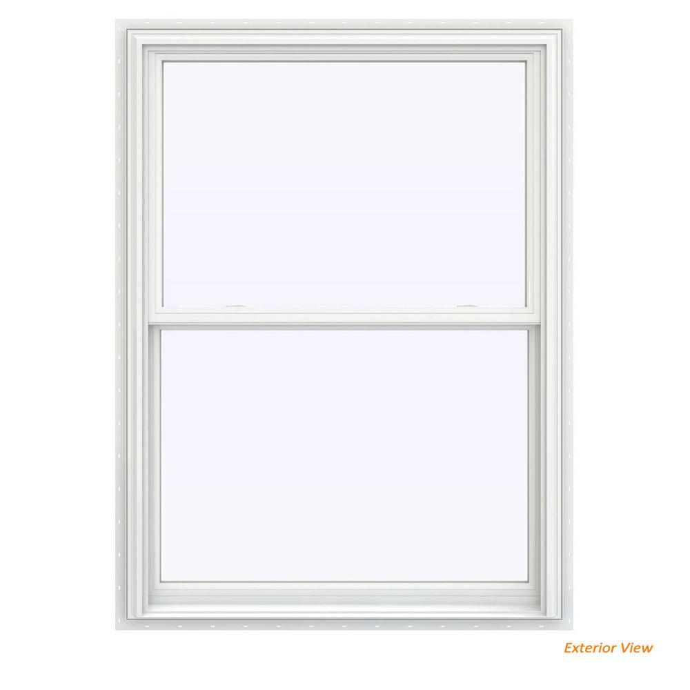 double hung window pictures autocad this review is from395 in 535 v2500 series white vinyl double hung window with bettervue mesh screen jeldwen 235 475