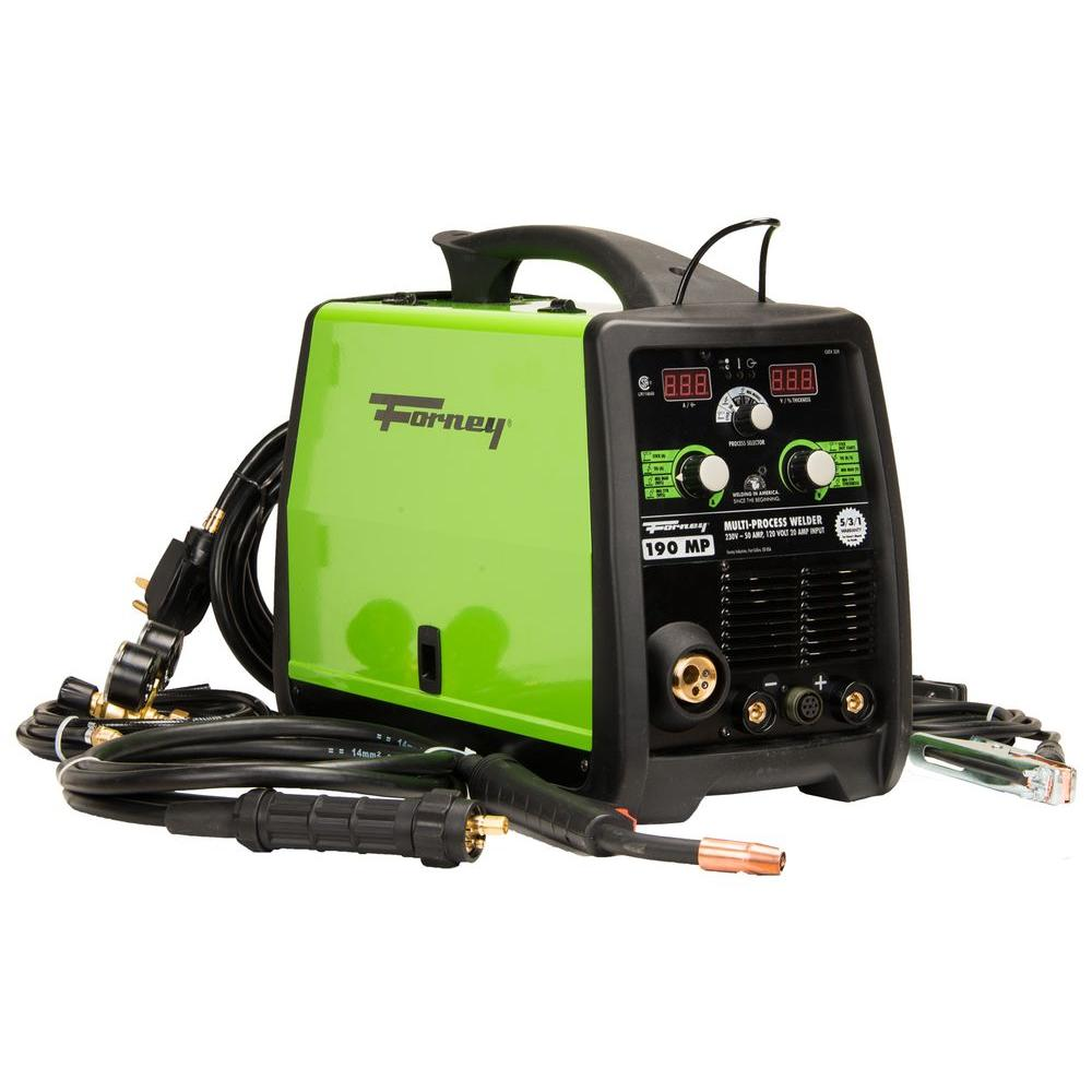 Forney 190 Amp 120 230 Volt Mig Stick Tig Multi Process Welder From Lincoln Invertec 275 Parts
