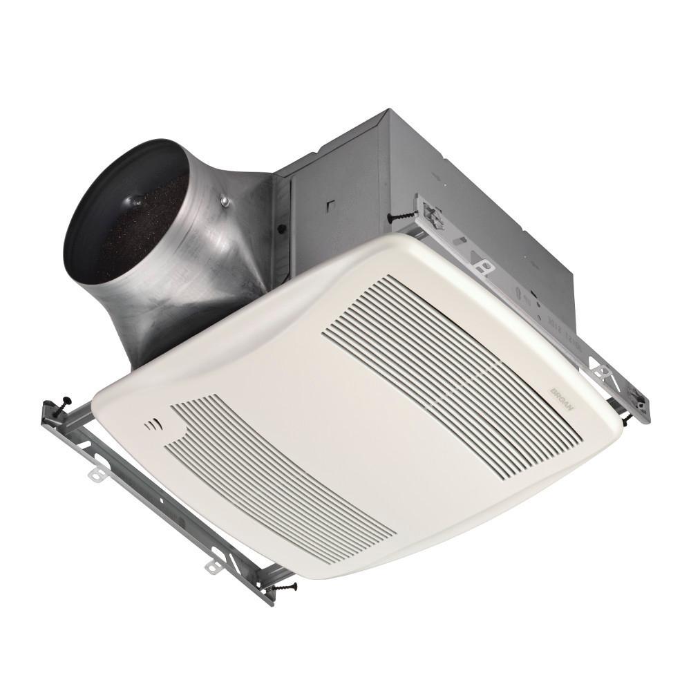 recessed 11 325 humidity sensing bath fans bathroom exhaust rh homedepot com bathroom exhaust fan with humidity sensor and light bathroom fan with humidity sensor and timer