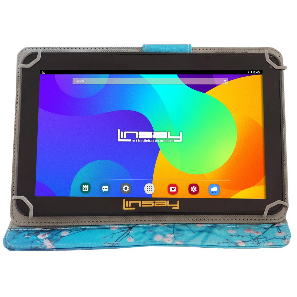 LINSAY 10.1 in. 2GB RAM 16GB Android 9.0 Pie Quad Core Tablet with Flowers Marble Case was $179.99 now $87.99 (51.0% off)