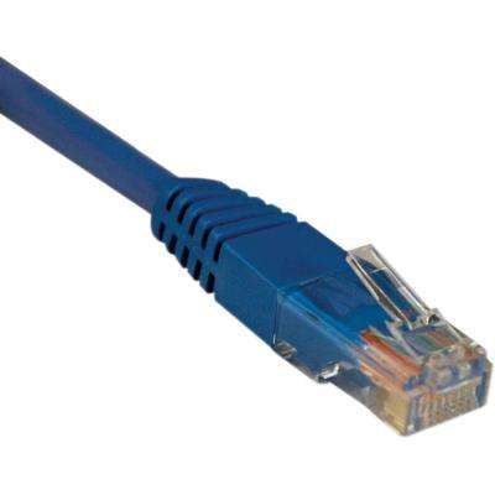 5-ft. Cat5e / Cat5 350MHz Molded Patch Cable RJ45M/M - Blue