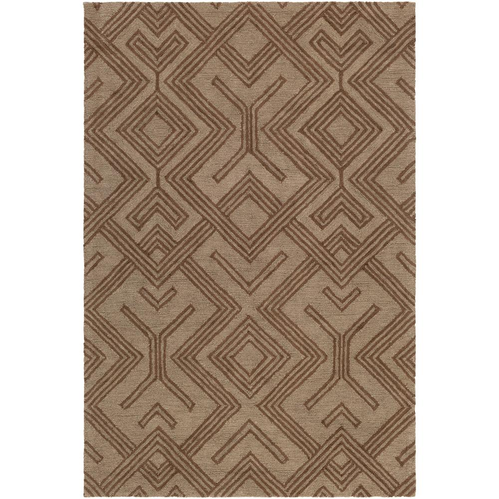 Congo Hill Taupe 2 ft. x 3 ft. Indoor Area Rug