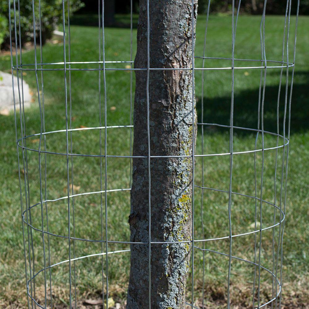 Everbilt 5 Ft X 50 Ft 14 Gauge Galvanized Steel Welded Wire Garden Fence 308303eb The Home Depot