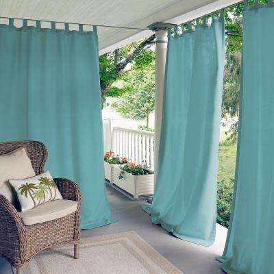 Matine Mineral Indoor/Outdoor Window Curtain Panel - 52 in. W x 108 in. L