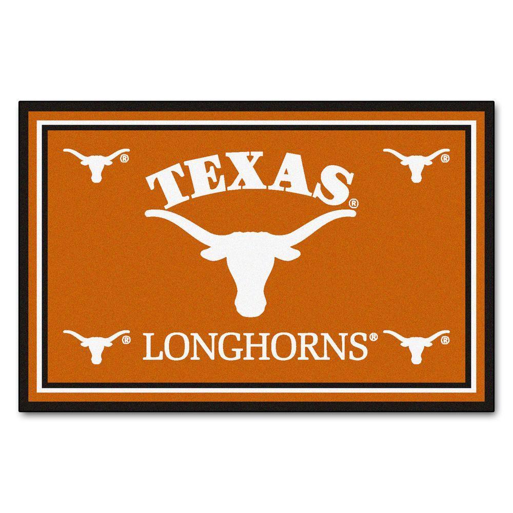 University of Texas 5 ft. x 8 ft. Area Rug