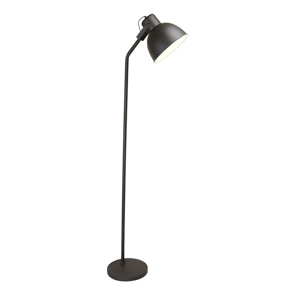 Newhouse Lighting 68 In Black Modern Floor Lamp With Led Bulb