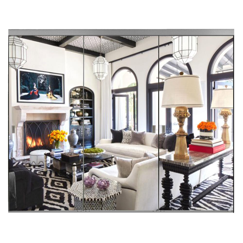 Impact Doors: Impact Plus 120 In. X 96 In. Polished Edge Mirror Framed