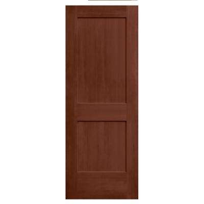 30 in. x 80 in. Monroe Amaretto Stain Solid Core Molded Composite MDF Interior Door Slab