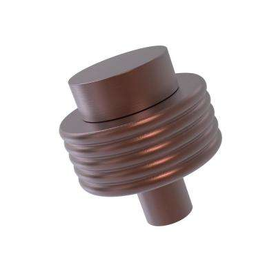 1-1/2 in. Cabinet Knob in Antique Copper