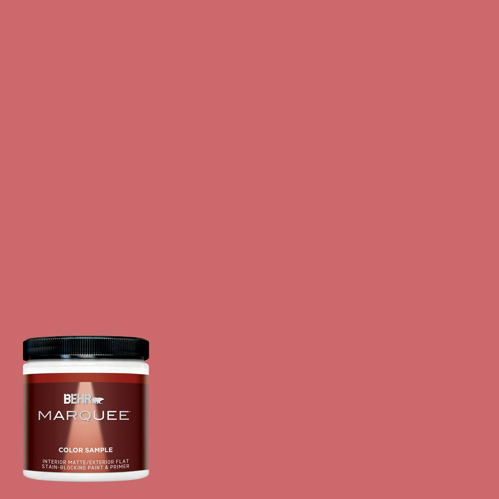 BEHR MARQUEE 8 oz. #MQ4-02 Strawberry Wine Matte Interior/Exterior ...
