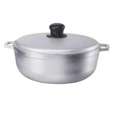 Cast Aluminum Natural Finish 11.6  Qt. Caldero