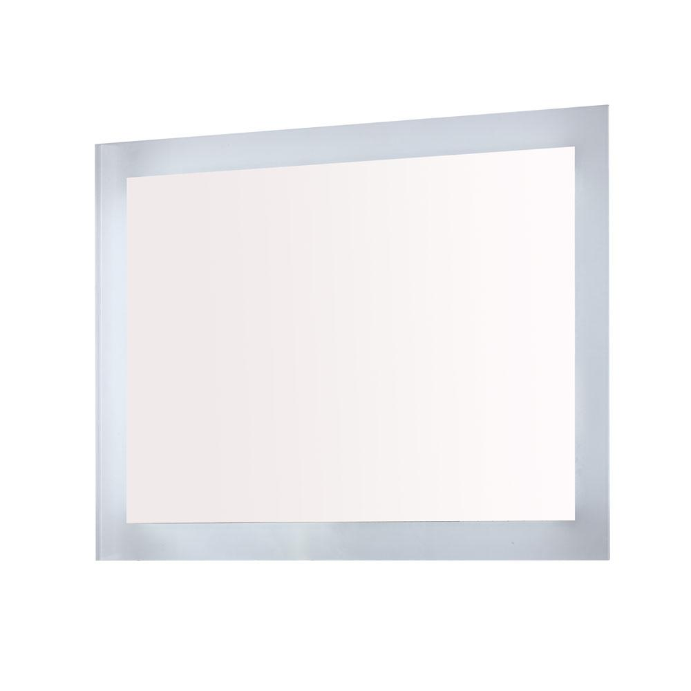 Bellaterra home innolight 071 36 in x 27 in single for Mirror 84 x 36