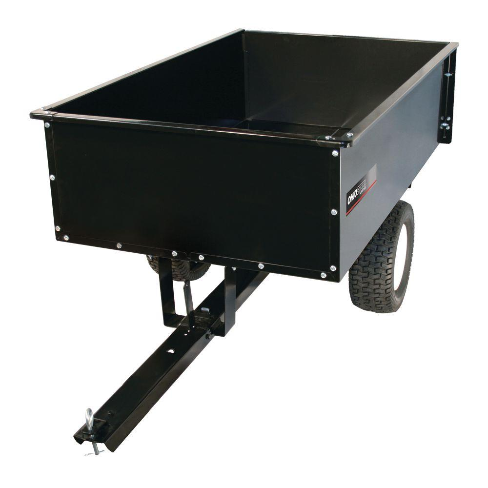 Ohio Steel 20 Cu Ft 1500 Lb Steel Dump Cart 3460hkd