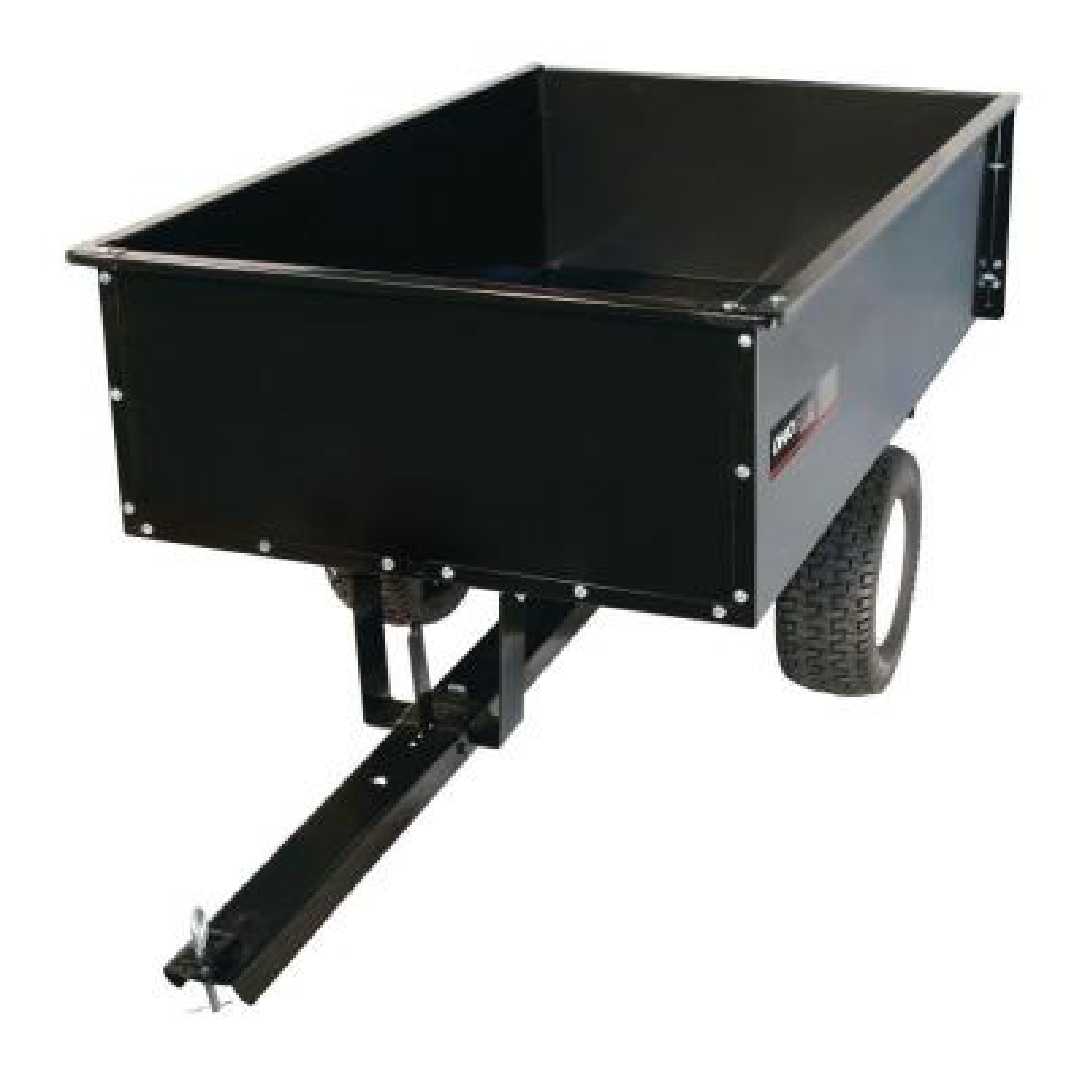 20 cu. ft. 1500 lb. Steel Dump Cart