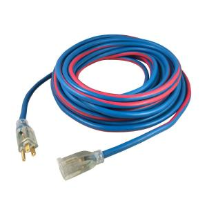 Extreme 25 ft. 14/3 All Weather Extension Cord with Lighted Plug