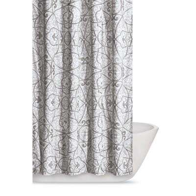 Marcello 72 In Grey Shower Curtain