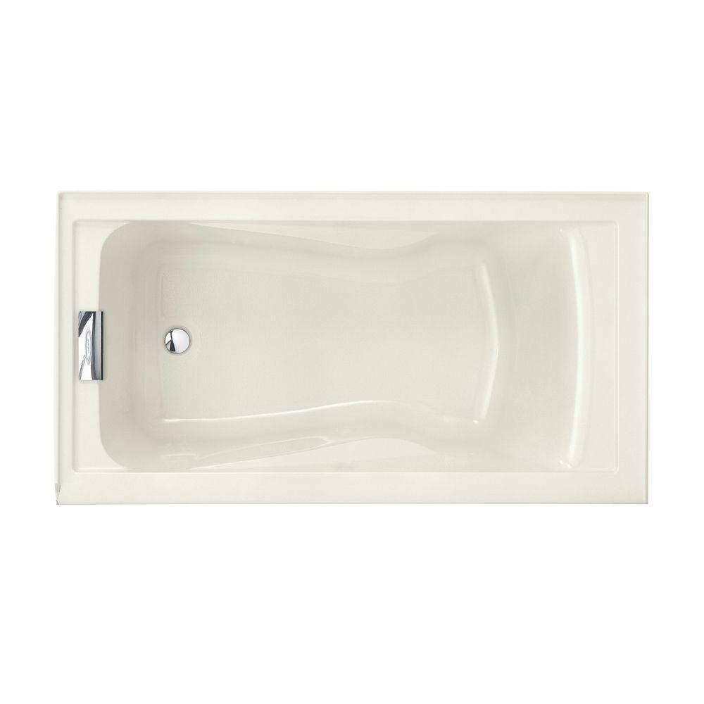Evolution 5 ft. Left Drain Deep Soaking Tub with Integral Apron