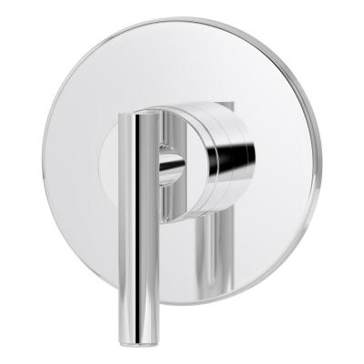 Dia Lever 1-Handle Wall-Mounted Diverter Trim Kit in Chrome (Valve not Included)