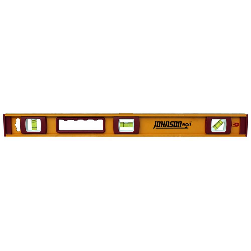 24 in. Heavy Duty Magnetic Aluminum Level
