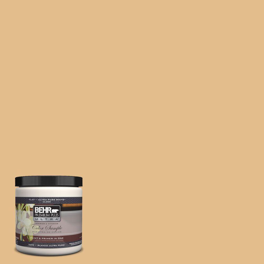BEHR Premium Plus Ultra 8 oz. #330D-4 Warm Muffin Matte Interior ...