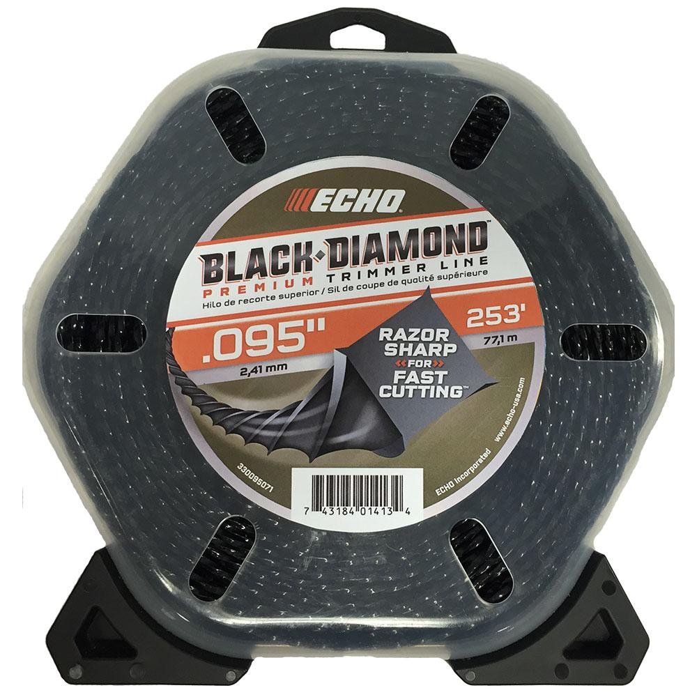 Echo 095 Black Diamond Trimmer Line 253 Ft Large Clam