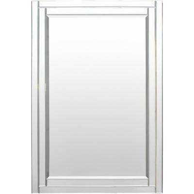 Armande 53.15 in. x 35.43 in. Traditional Framed Mirror