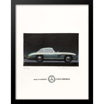 "24 in. x 18 in. ""Made in Germany, Mercedes Benz, Classic Bodywork"" by Fairchild Paris Car Series Wall Art"