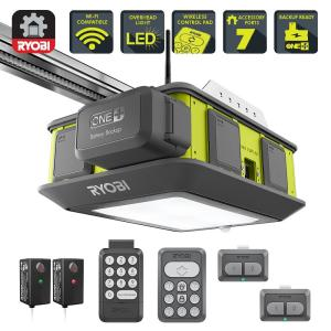 Deals on Ryobi Ultra-Quiet 2 HP Belt Drive Garage Door Opener