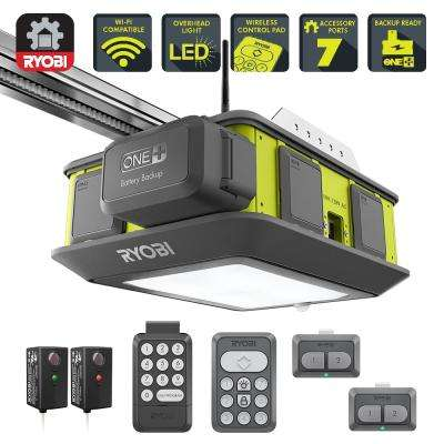 Ultra-Quiet 2 HP Belt Drive Garage Door Opener with Battery Backup Capability