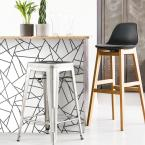 York Wallcoverings 28.18 sq. ft. Black Fracture Peel and Stick Wallpaper