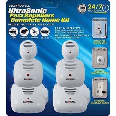 Multi Ultra-Sonic Pest Repellers Complete Home Kit (6-Pack)